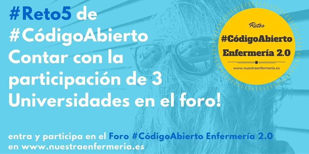 #Reto5 de#CódigoAbiertoContar con másde 100 aportacionesal foro!
