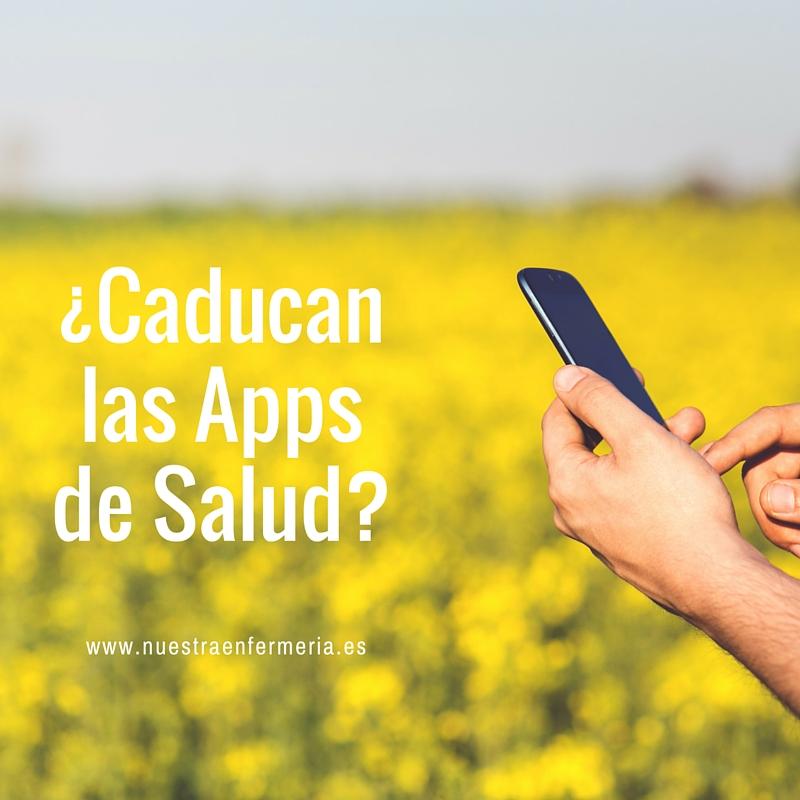 ¿Caducan las Apps de Salud-