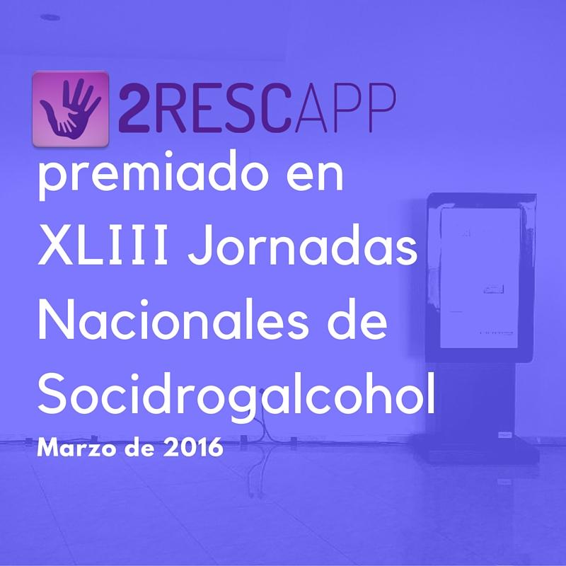 premiado en XLIII Jornadas Nacionales de Sociodrogalcohol (2)
