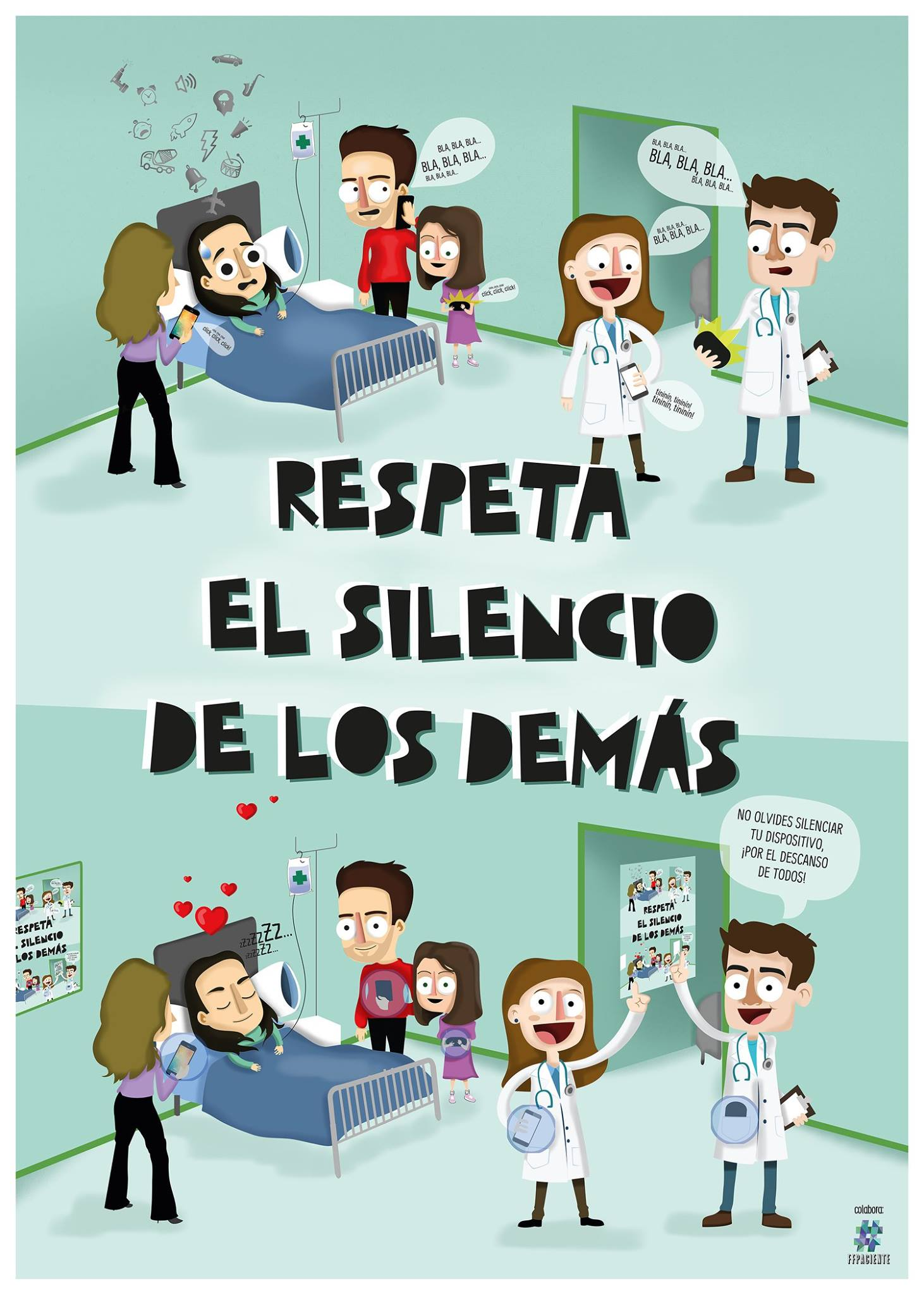 Shhhhhhh! #SanidadSINruido