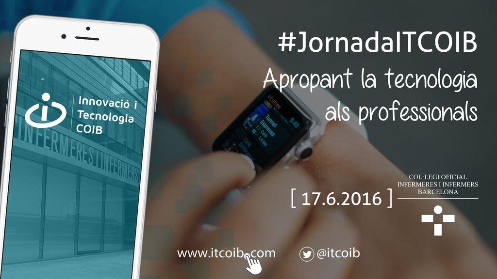 """I Jornada ITCoib """"Acercando la Tecnología a los profesionales"""" #JornadaITCOIB"""