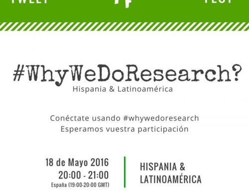 #Tweetfest #WhyWeDoResearch ¿Te animas?