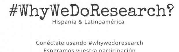 #Tweetfest #WhyWeDoResearch ¿Te animas?