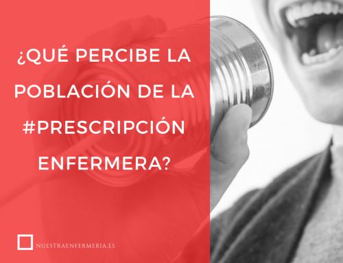 ¿Qué percibe la población de la prescripción enfermera?