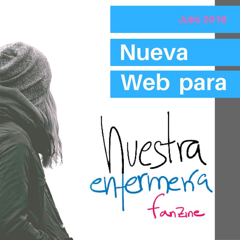 Nueva Web para Nuestra Enfermería Fanzine