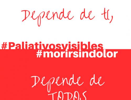 #morirsindolor: Depende de ti, depende de todos