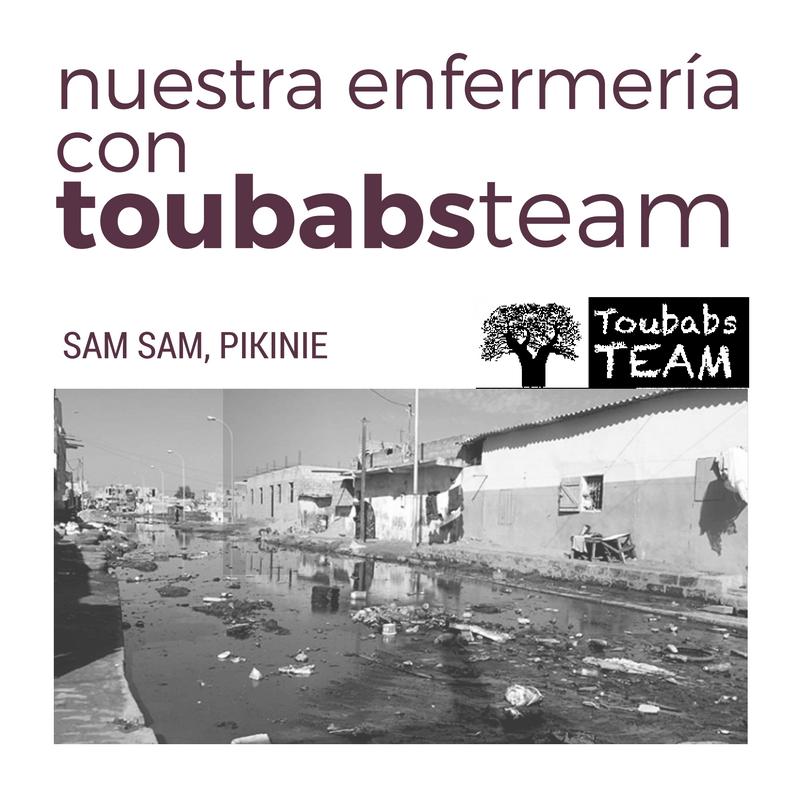 Nuestra Enfermería con Toubabs Team
