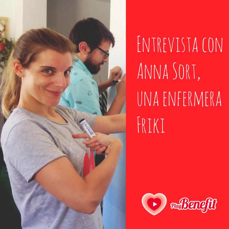 Entrevista con Anna Sort, una enfermera Friki
