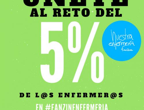 Reto del 5% en #FanzinEnfermeria