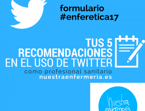 Re-conectando con twitter: #enferetica17