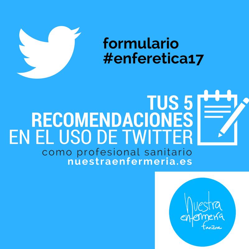 recomendaciones uso de twitter
