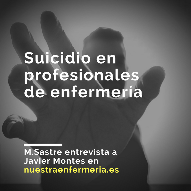 Suicidio en profesionales de enfermería