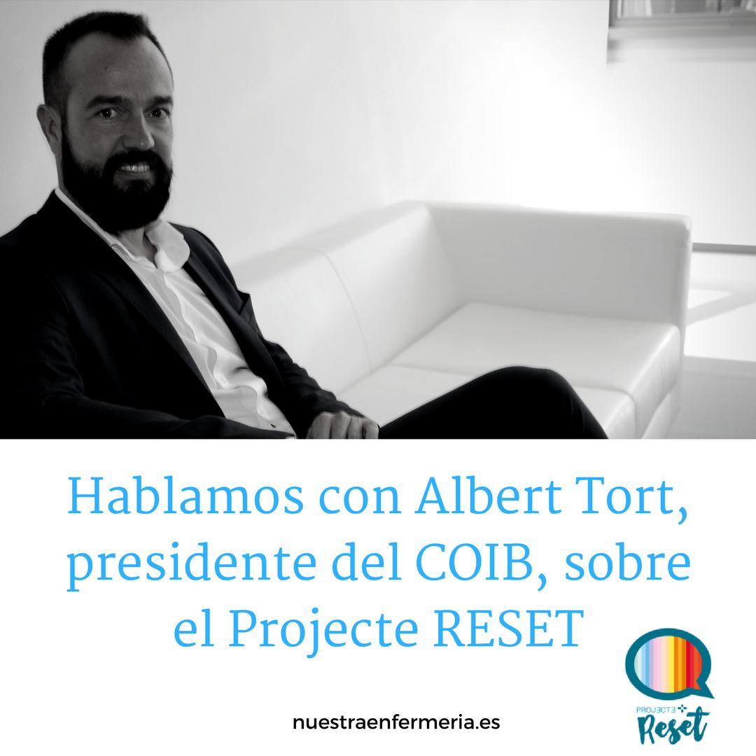 Hablamos con Albert Tort, presidente del COIB, sobre el Projecte RESET