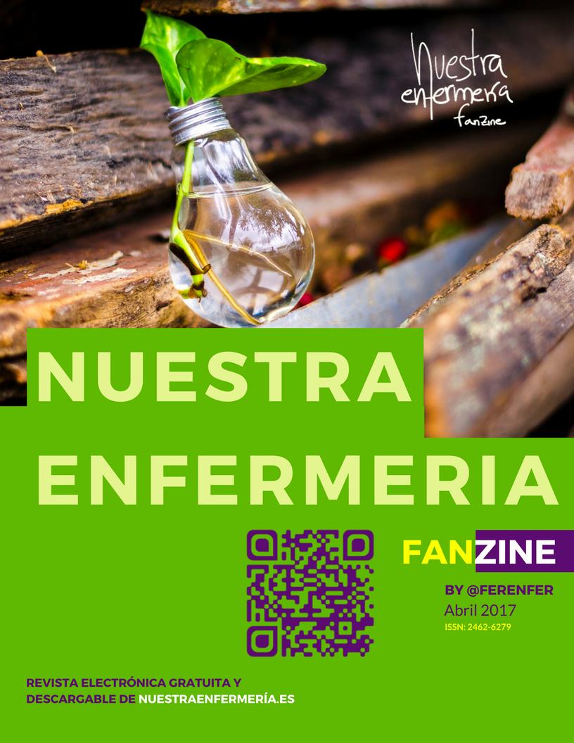 Brotes verdes en el Fanzine… #FanzinEnfermería Abril 2017