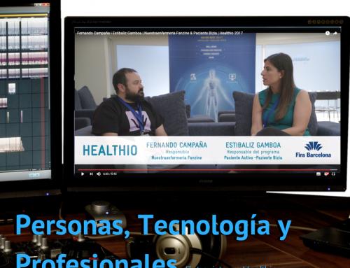 #FanzineTV: Personas, Tecnología y Profesionales en Healthio
