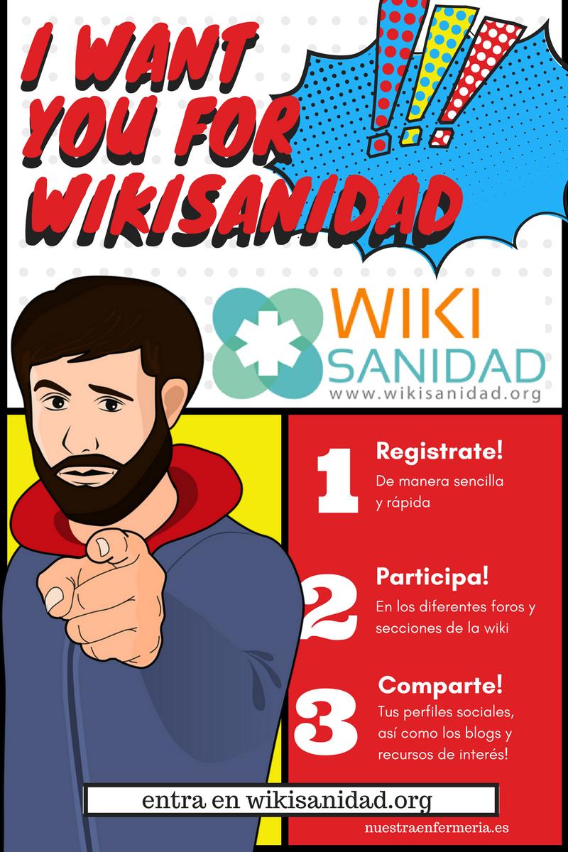 Wikisanidad? @manyez nos lo cuenta!