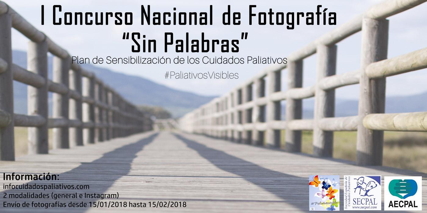 I Concurso Nacional de #Fotografía Sin Palabras #PaliativosVisibles