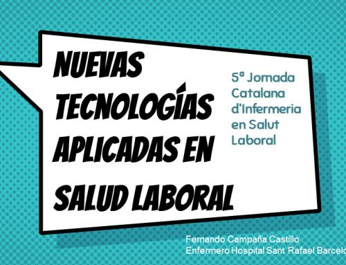 Nuevas tecnologías Aplicadas en Salud Laboral