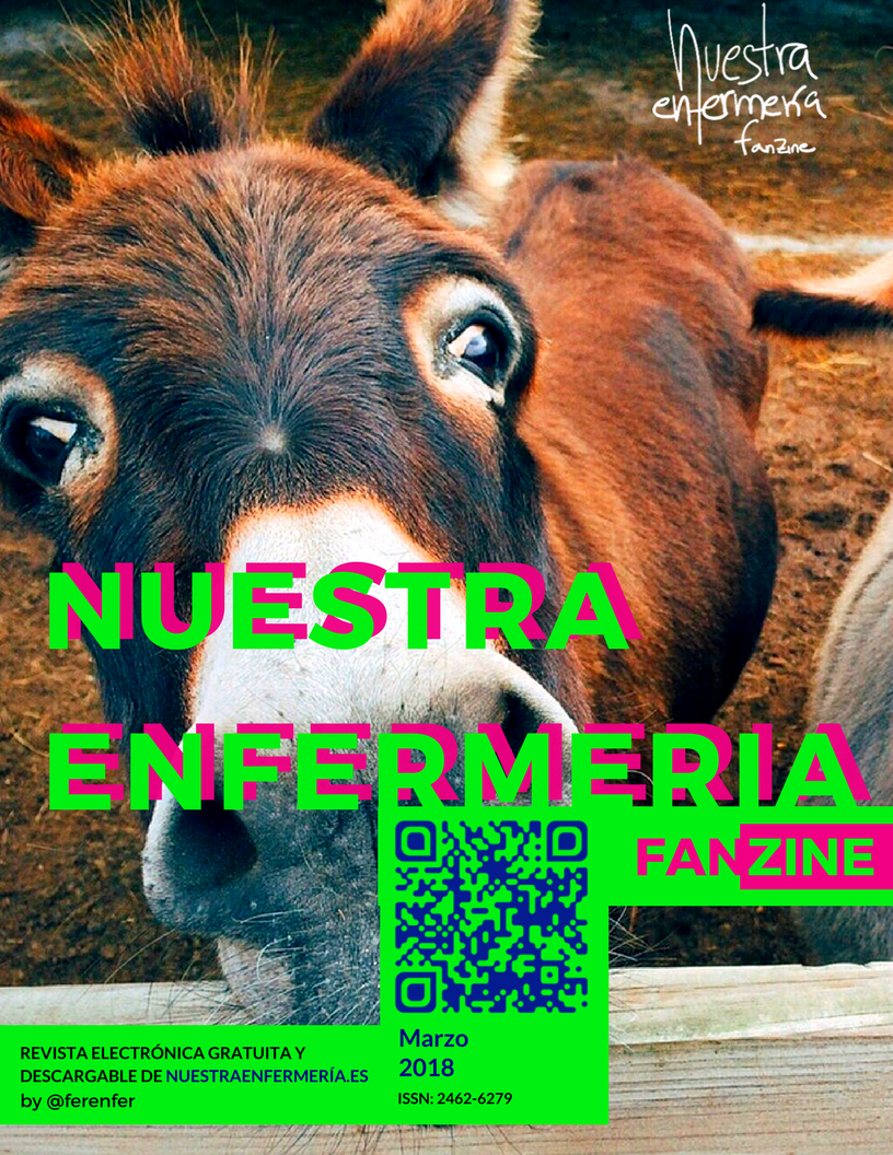 """Un fanzine muy """"Burro""""! #FanzinEnfermería Marzo 2018"""