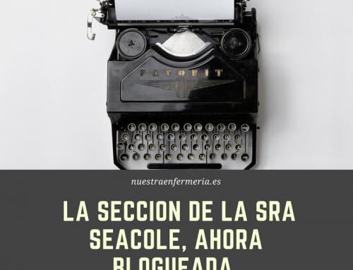 #FanzinEnfermeria , La sección de la Sra Seacole, ahora blogueada!