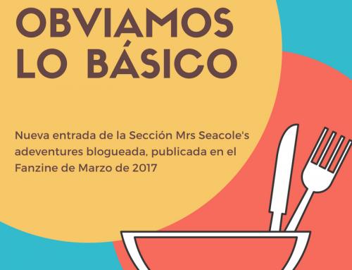 """#FanzinEnfermería """"Obviamos lo básico"""" #MrsSeacoleBlogged"""