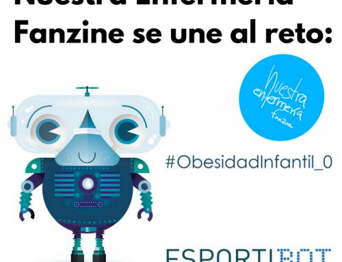 #Obesidadinfantil_0 Nuestra Enfermería Fanzine se une al reto!