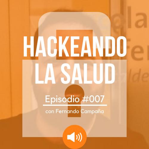 Hackeando la salud con @saludconectada y @chemacepeda