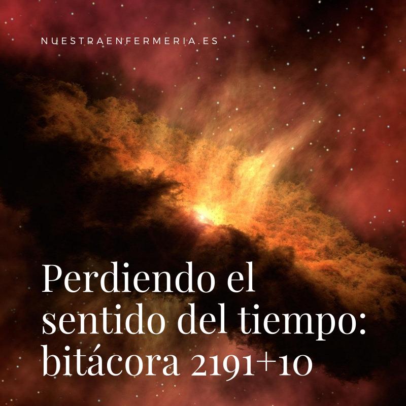 Perdiendo el sentido del tiempo: bitácora 2191+10
