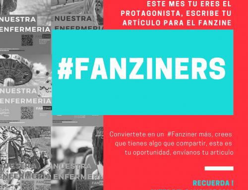 Conviértete en un #Fanziner, escribe en el #FanzinEnfermería de Diciembre 2018