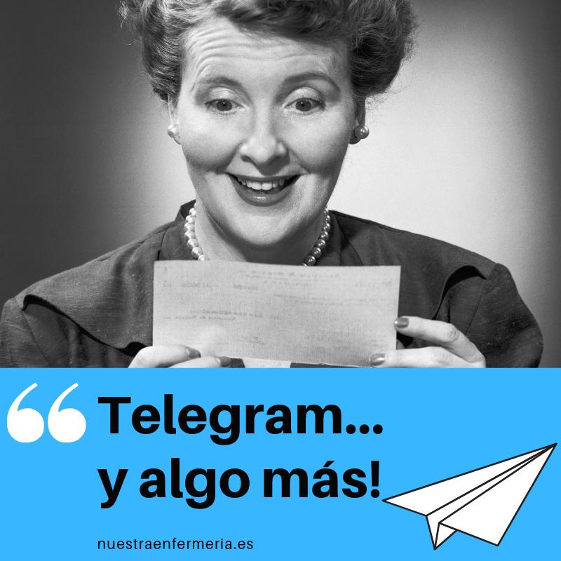 Telegram… y algo más!