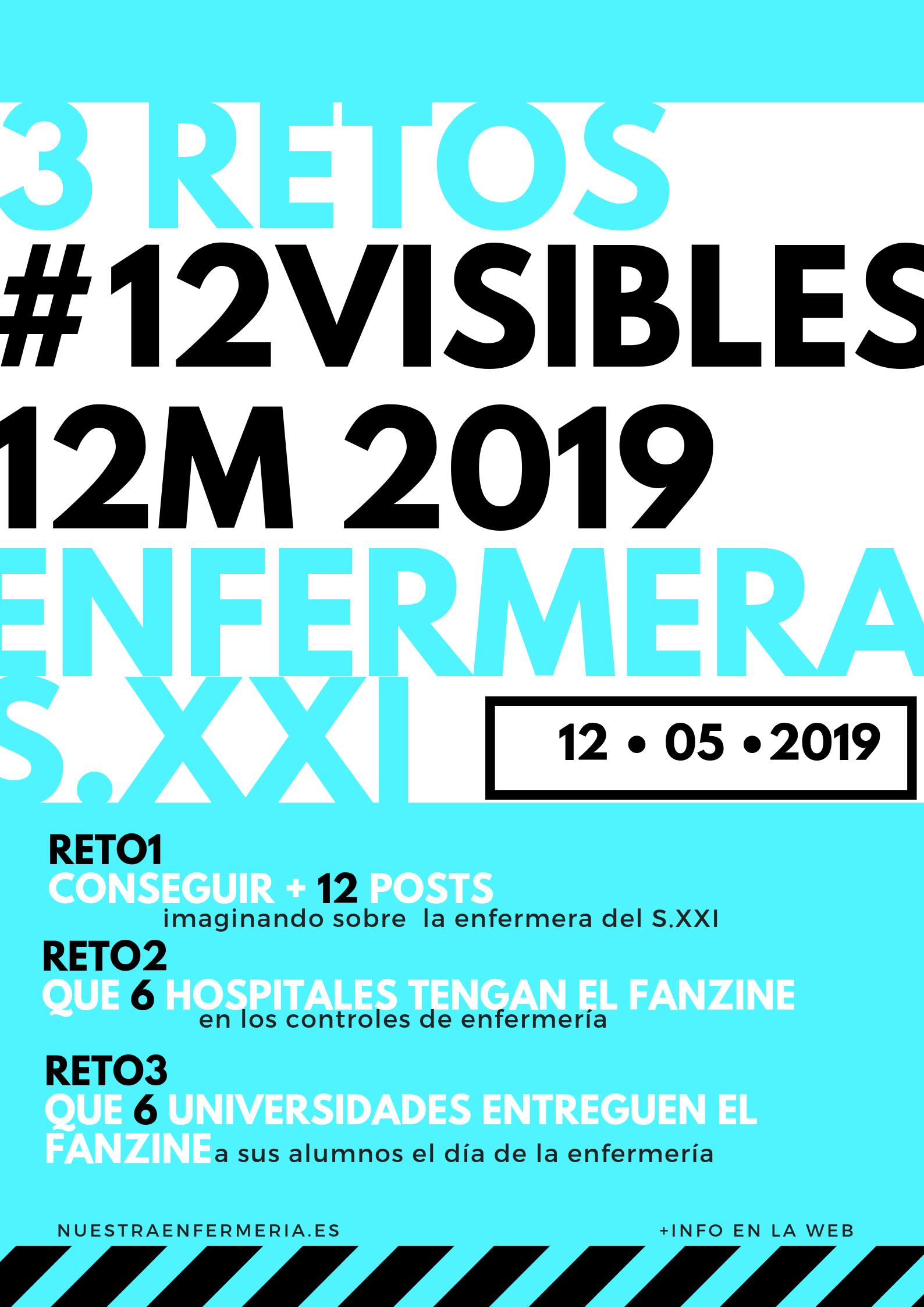 Todo es mentira, MiniFanzine #12visibles12M 2019
