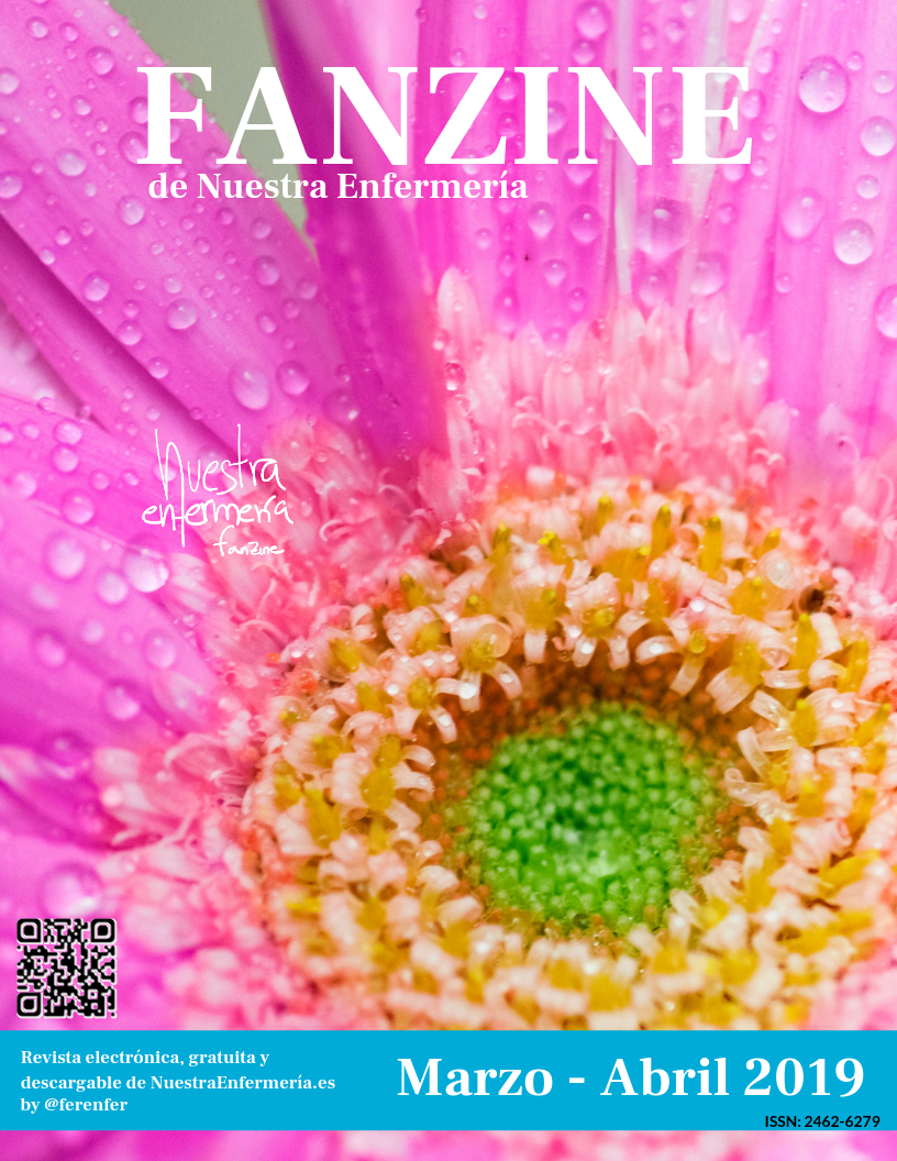 Now: Una primavera extraña… #Fanzinenfermeria Marzo – Abril 2019
