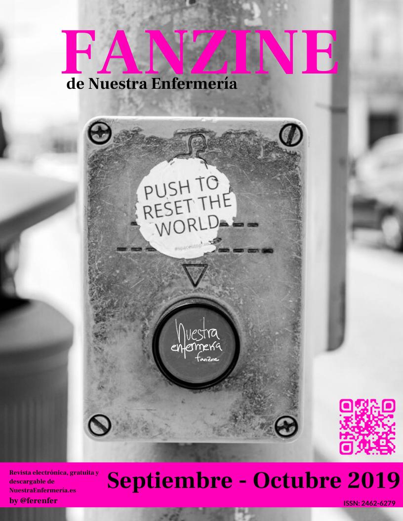 #FanzinEnfermería Septiembre – Octubre 2019 (Bitácora 2556+1)