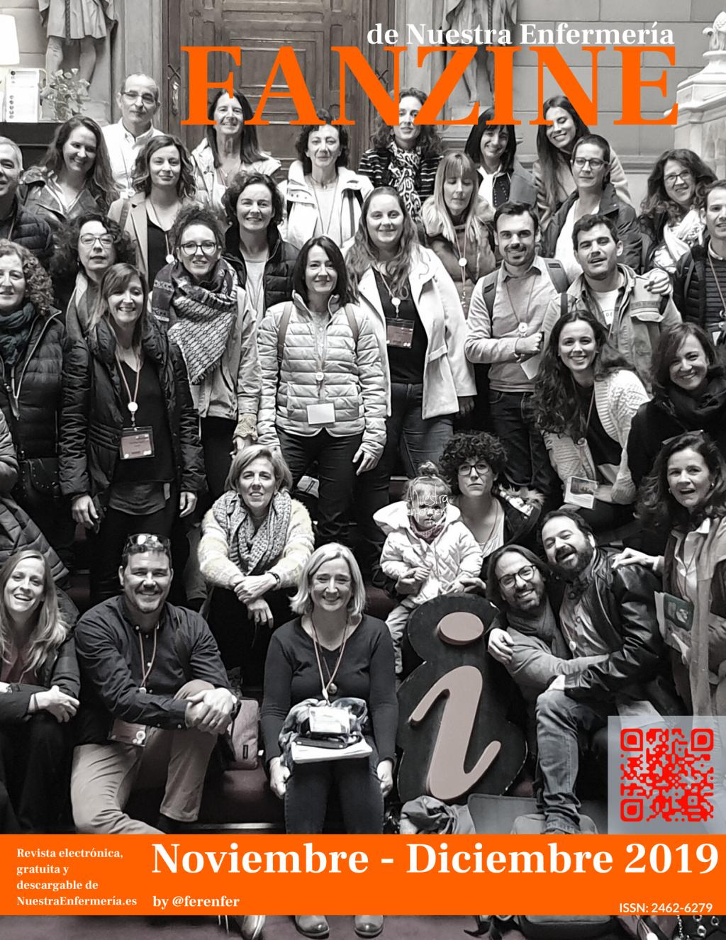 El último #Fanzine!? #FanzinEnfermeria Noviembre – Diciembre 2019