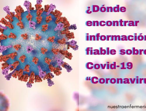 ¿Dónde encontrar información fiable sobre el Covid-19 – Coronavirus ?