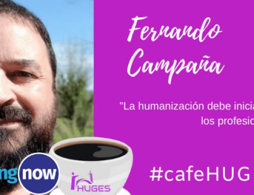Tomando un Café HUGES #CafeHUGES